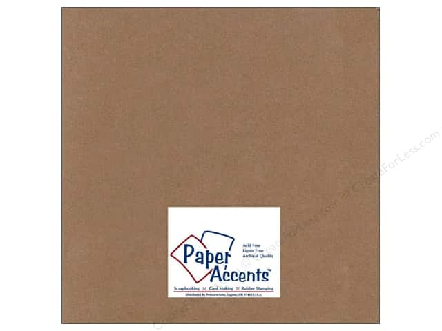 Paper Accents Cardstock 12 x 12 in. #709 Textured Clove (25 sheets)