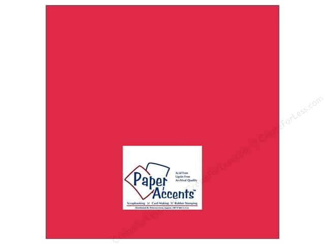 Cardstock 12 x 12 in. #8002 Muslin Grenadine by Paper Accents (25 sheets)