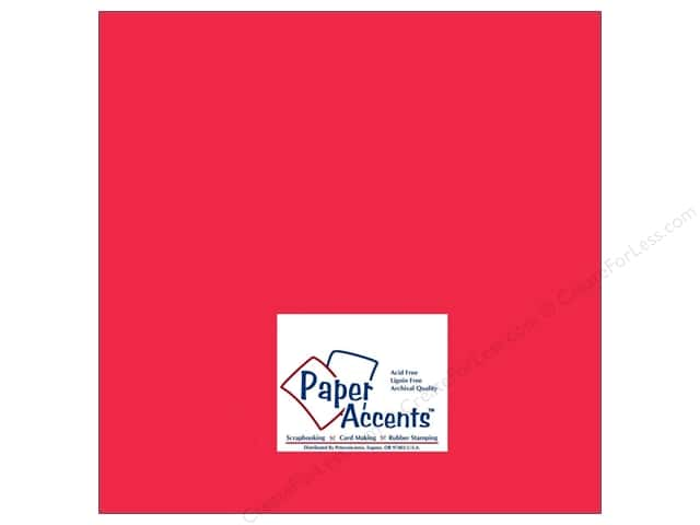 Paper Accents Cardstock 12 x 12 in. #8003 Muslin Red Devil (25 sheets)