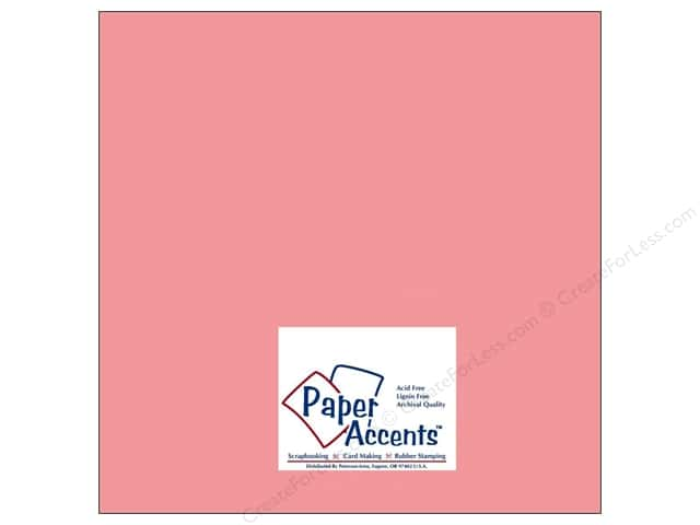 Paper Accents Cardstock 12 x 12 in. #8006 Muslin Roses Are Red (25 sheets)