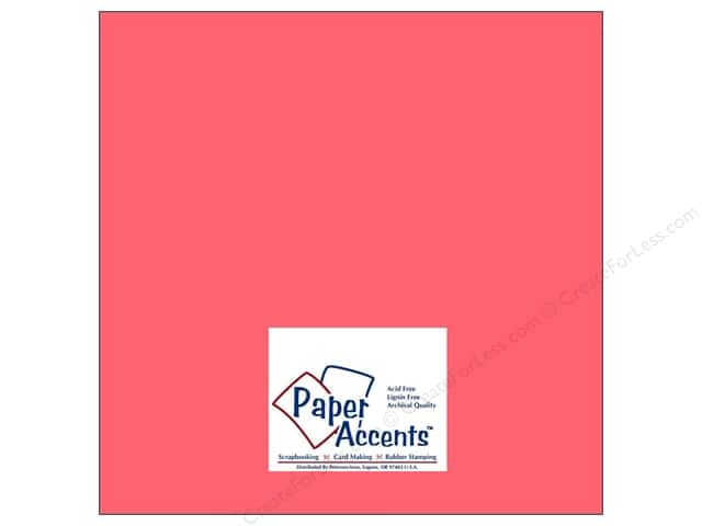 Paper Accents Cardstock 12 x 12 in. #8007 Muslin Passionate (25 sheets)