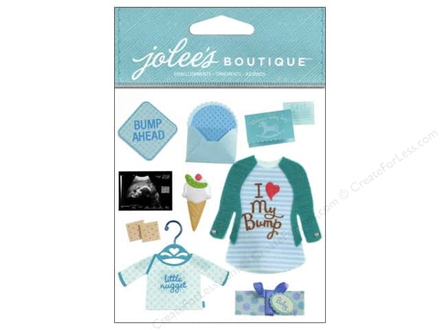 Jolee's Boutique Stickers Baby Boy Pregnancy