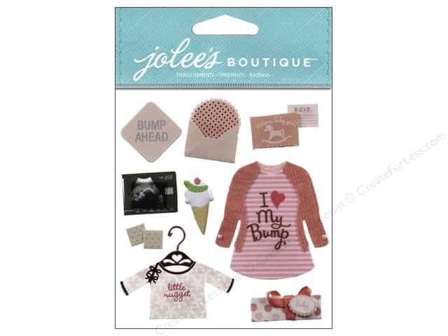 Jolee's Boutique Stickers Baby Girl Pregnancy