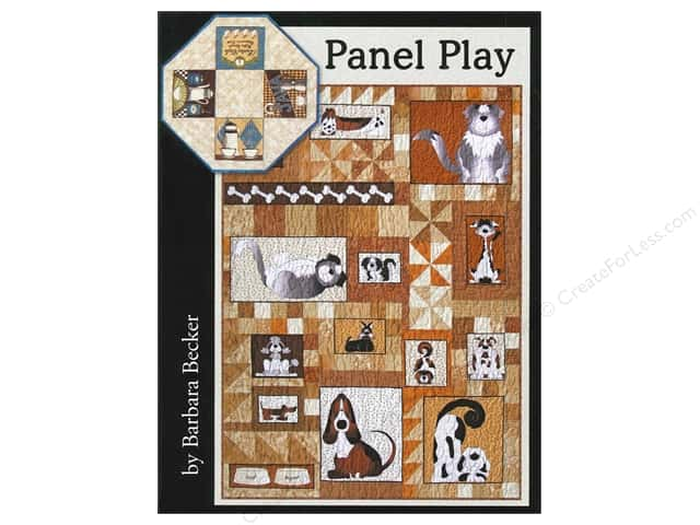 Panel Play: Designs for Using Quilt Panels in Table Toppers, Wall Hangings, Bed Quilts, and Runners Book by Barbara Becker