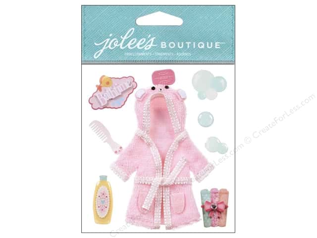Jolee's Boutique Stickers Baby Girl Bath Time