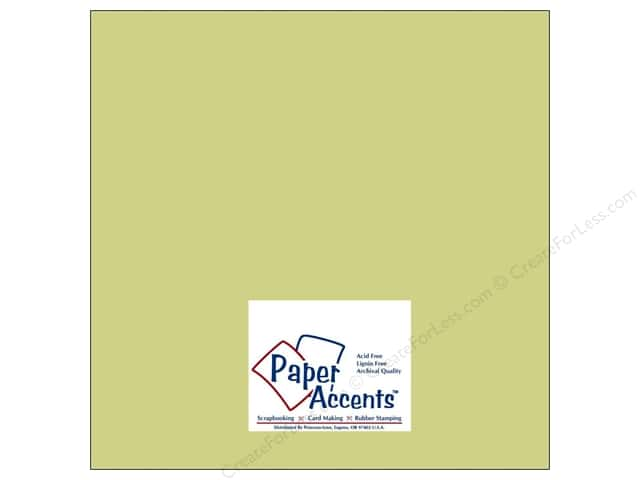 Cardstock 12 x 12 in. Muslin River Reed by Paper Accents (25 sheets)