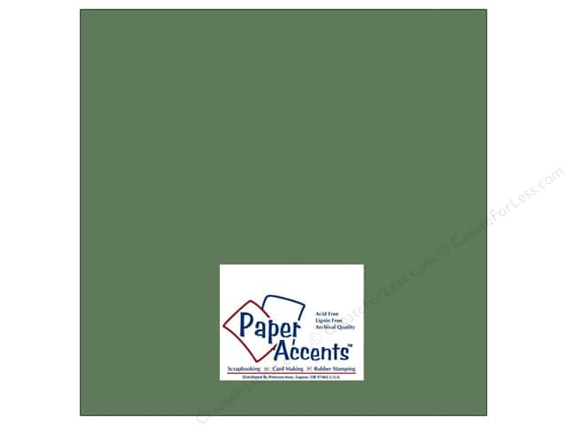 Paper Accents Cardstock 12 x 12 in. #8028 Muslin Pine Needle (25 sheets)