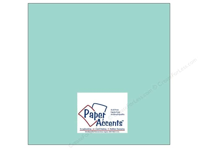 Paper Accents Cardstock 12 x 12 in. #8034 Muslin Mediterranean (25 sheets)
