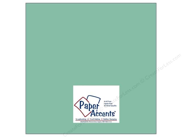 Paper Accents Cardstock 12 x 12 in. #8035 Muslin Artisan Pool (25 sheets)