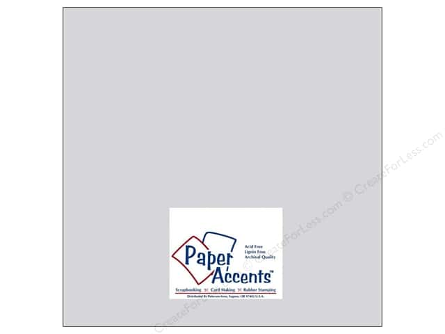 Paper Accents Cardstock 12 x 12 in. #8038 Muslin Summer Rain (25 sheets)