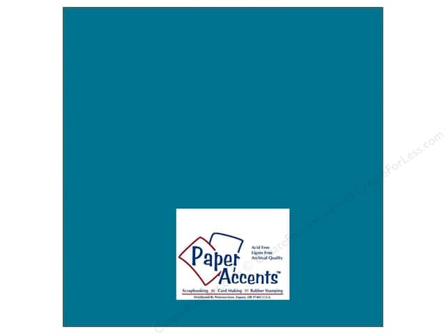 Paper Accents Cardstock 12 x 12 in. #8044 Muslin Great Lakes (25 sheets)