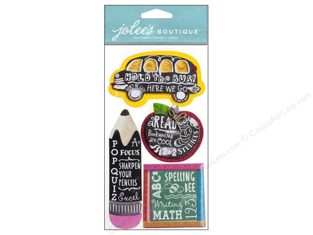 Jolee's Boutique Stickers Chalkboard Words
