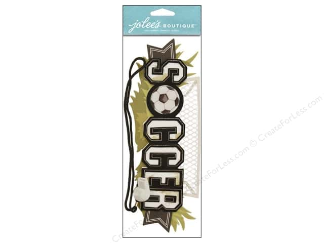 Jolee's Boutique Stickers Soccer