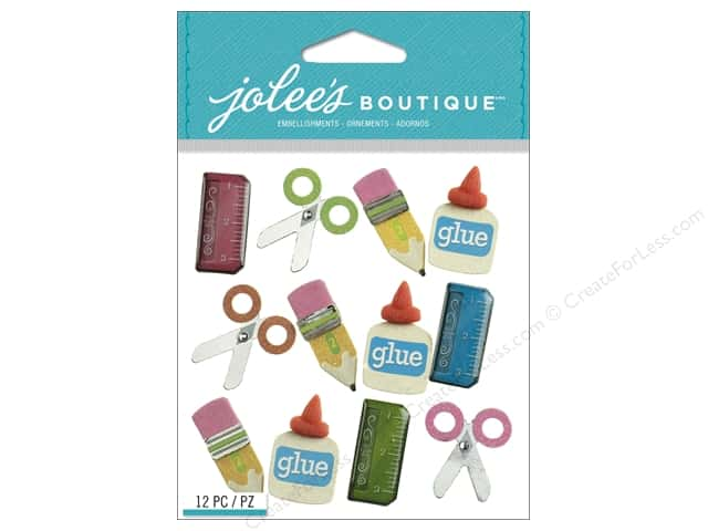 Jolee's Boutique Stickers School Supplies Repeat