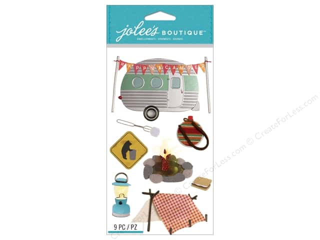 Jolee's Boutique Stickers Camping