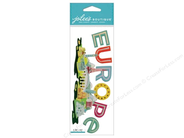 Jolee's Boutique Stickers Europe