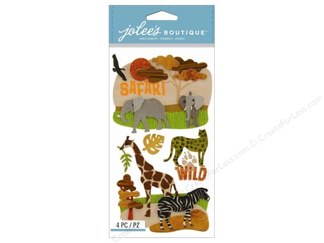 Jolee's Boutique Stickers Safari