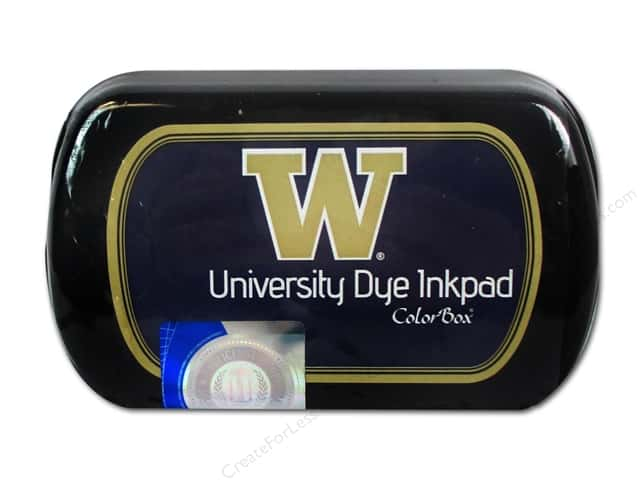 ColorBox Dye Ink Pad University of Washington Purple