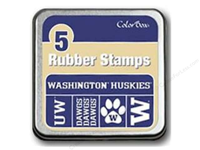 ColorBox Rubber Stamp Set University of Washington