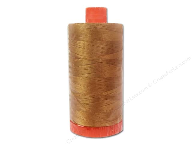 Aurifil Mako Cotton Quilting Thread 50 wt. #5086 Light Toast 1420 yd.