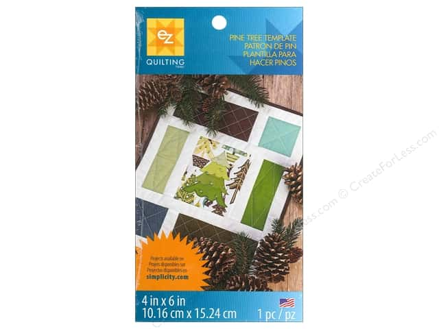 EZ Quilting Template Shapes Pine Tree