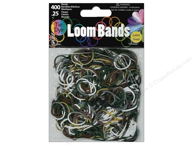 Midwest Design Loom Bands 425 pc. Camo Tie-Dye