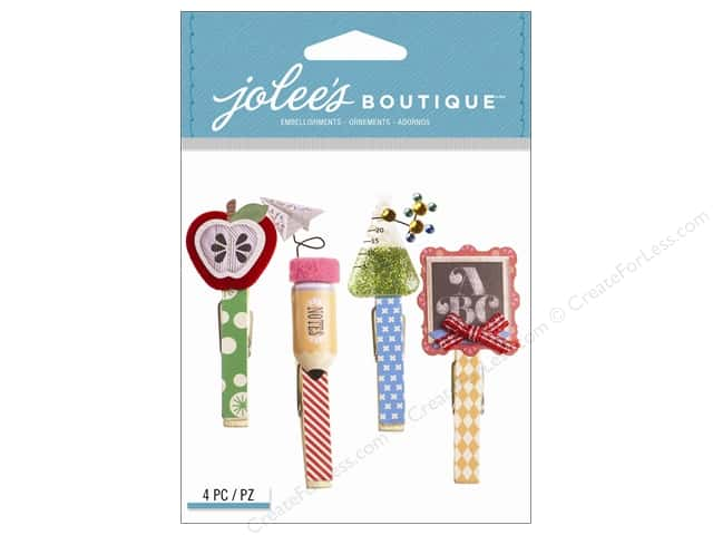 Jolee's Boutique Embellishments School Clips