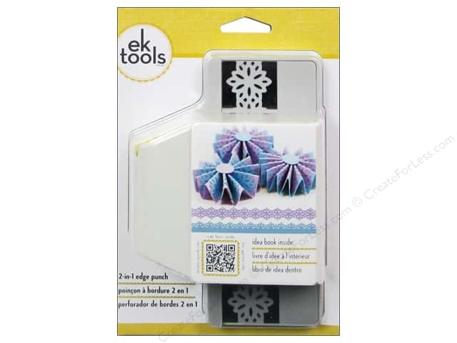 EK Paper Shapers 2 in 1 Edger Punch Lily Pad