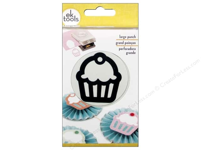 EK Success Large Punch Cupcake 2 in.