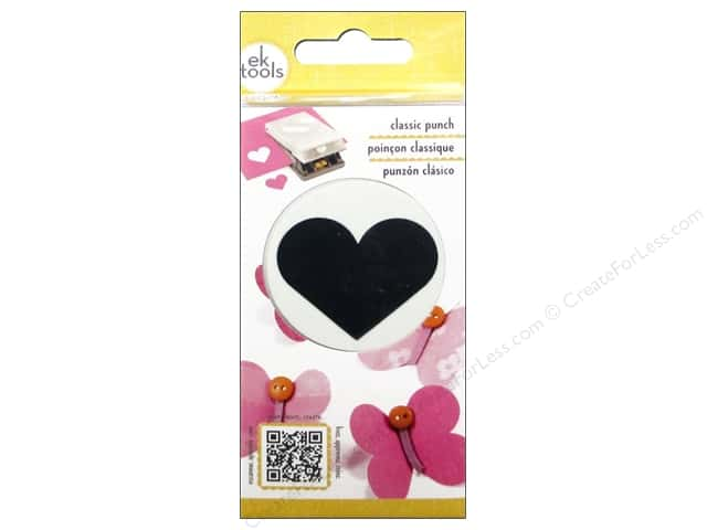 EK Success Classic Punch Heart 1 5/8 in.