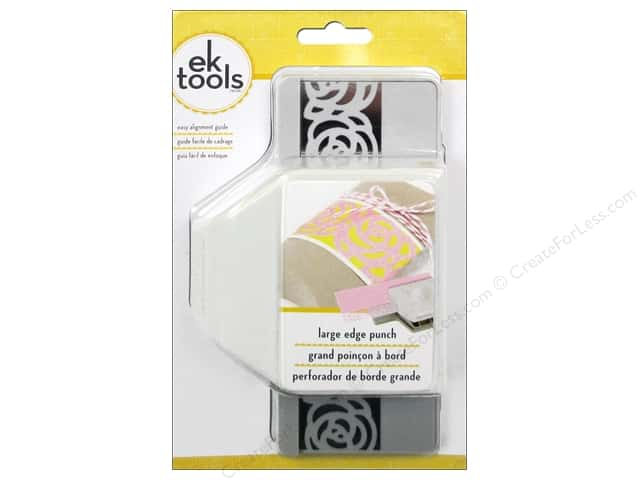 EK Paper Shapers Edger Punch Large Rose Chain