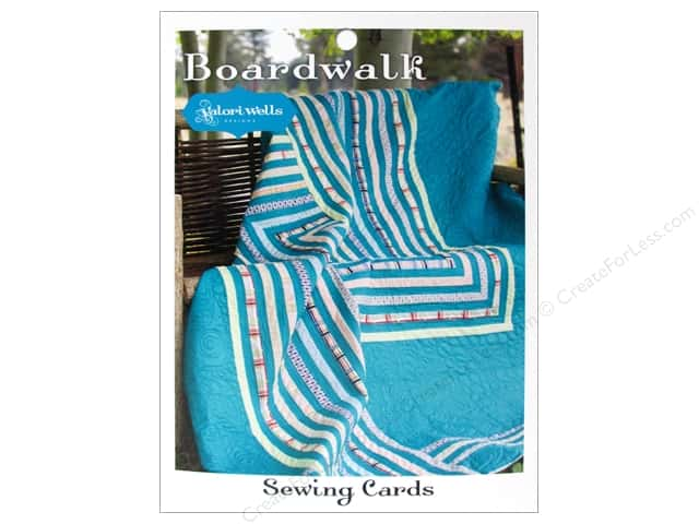 Stitchin' Post Boardwalk Sewing Card Pattern