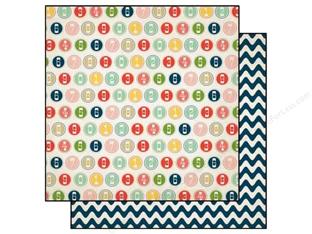 Carta Bella 12 x 12 in. Paper It's A Celebration Large Numbers (25 sheets)