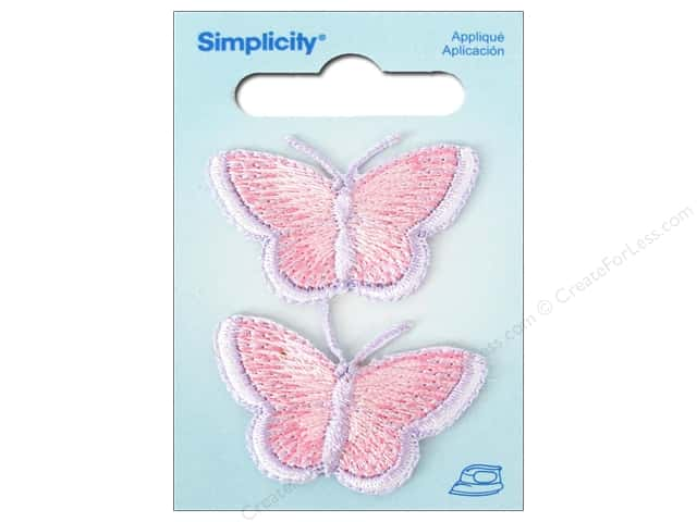 Simplicity Iron On Applique Small Butterflies