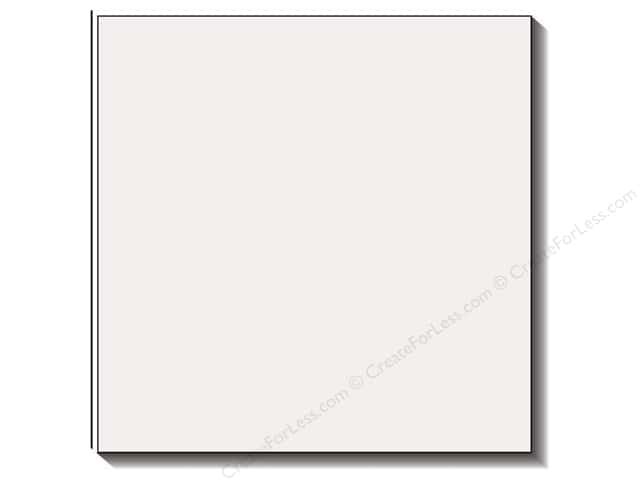 Bazzill 12 x 12 in. Cardstock Criss Cross Lily White (25 sheets)