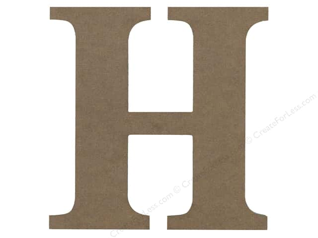 Sierra Pacific Decor MDF Letter 9.45 in.H