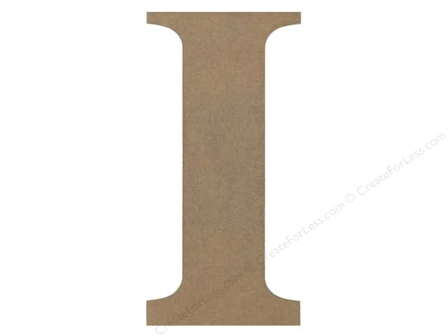 Sierra Pacific Decor MDF Letter 9.45 in. I