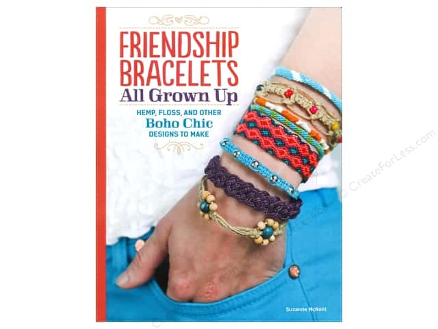 Design Originals Friendship Bracelets All Grown Up Book by Suzanne McNeill