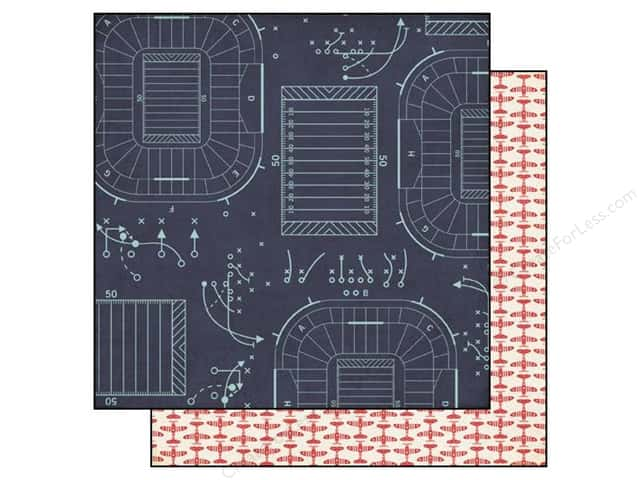 Echo Park 12 x 12 in. Paper That's My Boy Collection Game Plan (25 sheets)