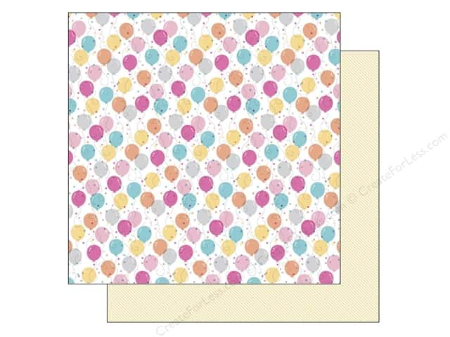 Doodlebug 12 x 12 in. Paper Sugar Shoppe Sweet Celebration (25 sheets)