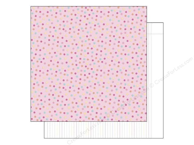 Doodlebug 12 x 12 in. Paper Sugar Shoppe Cupcake Sprinkles (25 sheets)