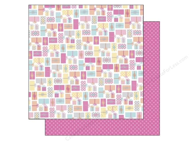 Doodlebug 12 x 12 in. Paper Sugar Shoppe Gifts Galore (25 sheets)