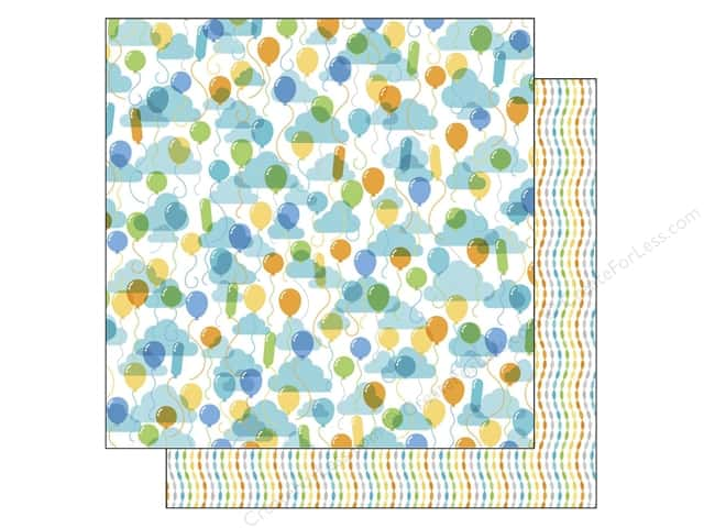 Doodlebug 12 x 12 in. Paper Hip Hip Hooray Up Up & Away (25 sheets)