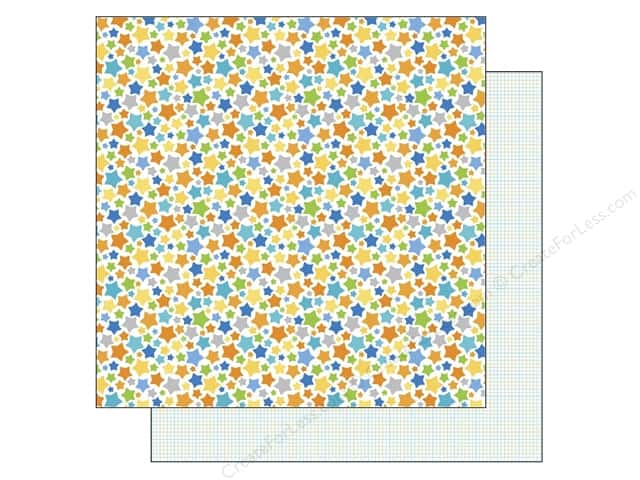 Doodlebug 12 x 12 in. Paper Hip Hip Hooray Superstars (25 sheets)