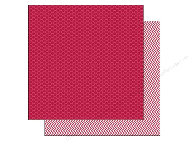 Doodlebug 12 x 12 in. Paper Kraft In Color Ladybug Dot (25 sheets)