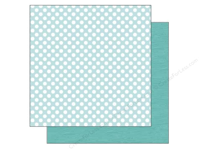 Doodlebug 12 x 12 in. Paper Kraft In Color Swimming Pool Dot (25 sheets)