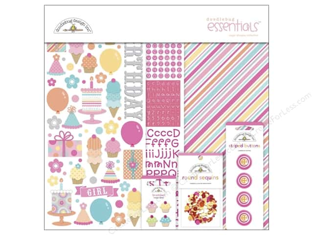 Doodlebug Essentials Kit Sweet Shoppe