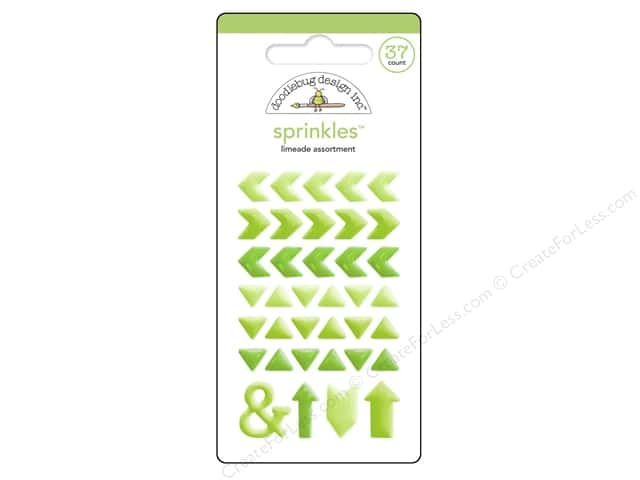 Doodlebug Sprinkles Stickers Arrow Limeade