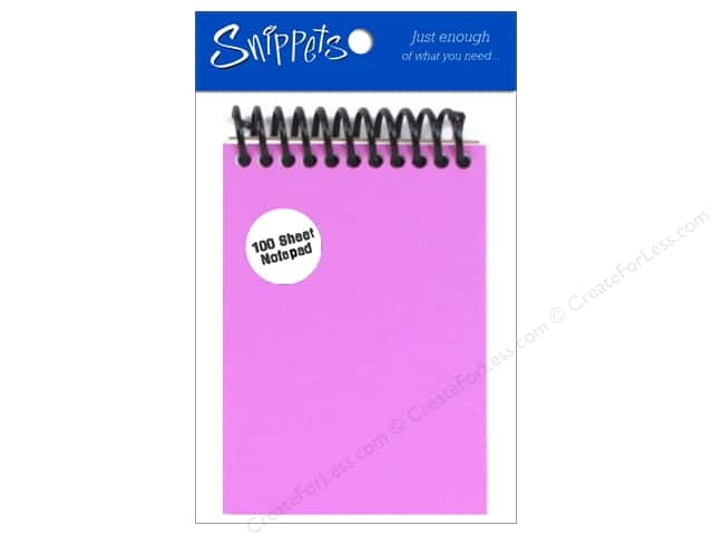 Note Pad by Paper Accents 4 1/4 x 3 in. Purple