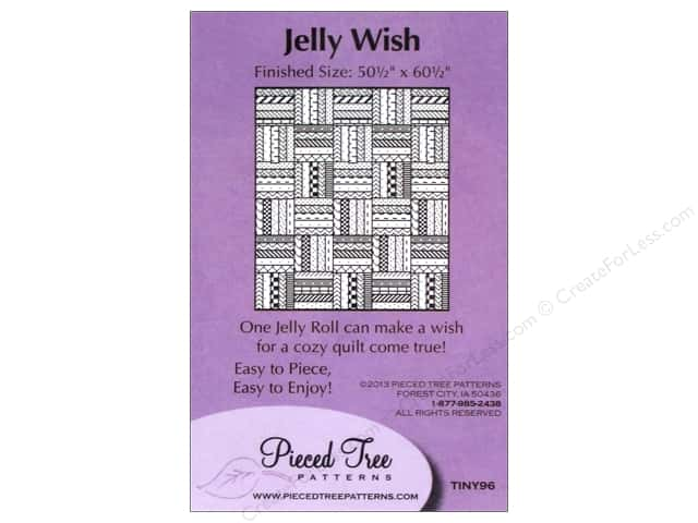 Pieced Tree Tiny Jelly Wish Pattern Card